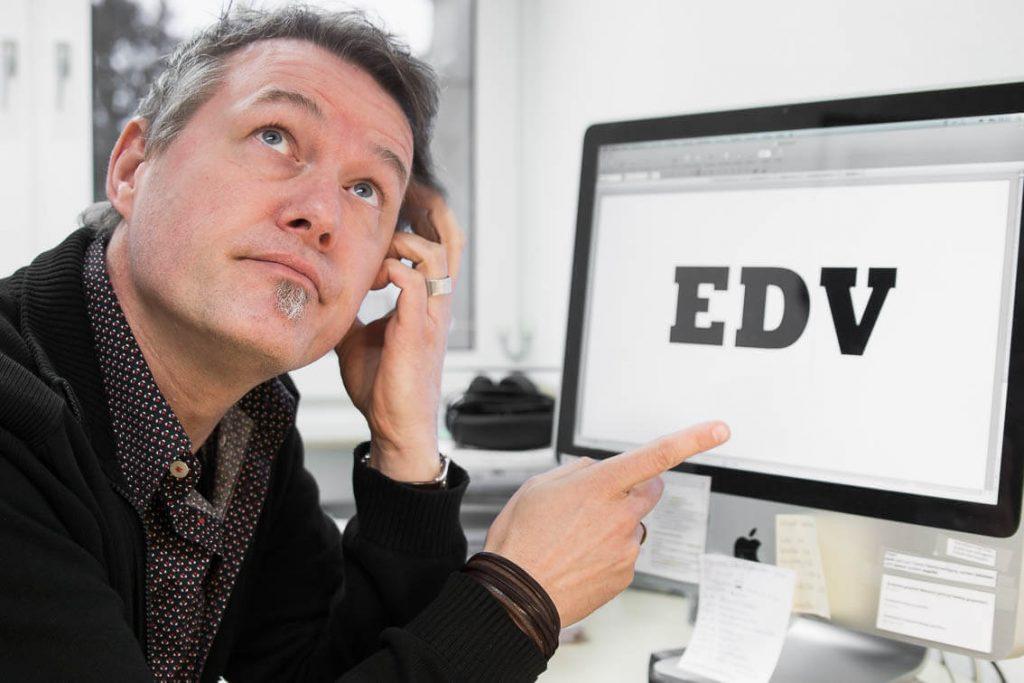 Stoerung in der EDV